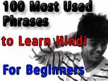 100 Most Used Phrases to Learn Hindi for Beginners
