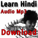 learn Hindi audio lesson free downloads
