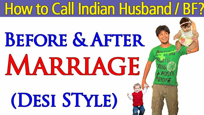 How to call Indian husband