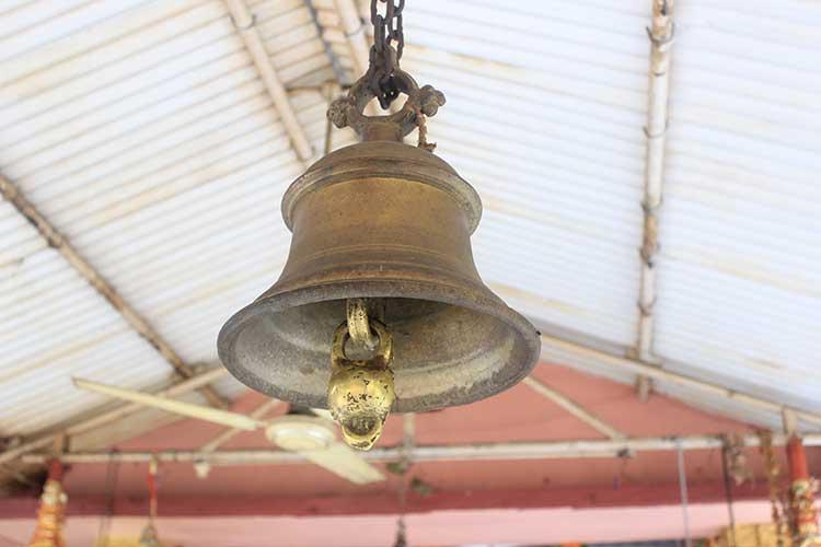 Hindu-temple-bell