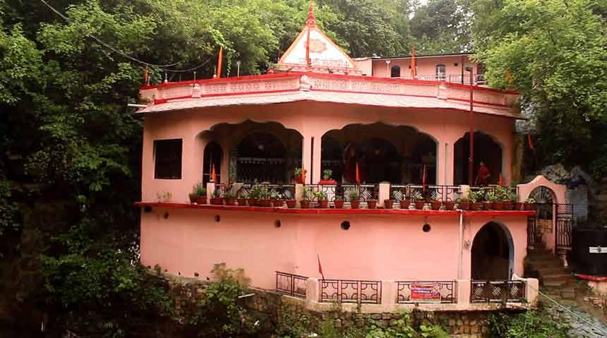 Santoshi-Mata-temple-at-Tapkeshwar-Mahadev-Temple-dehradun