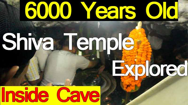 Exploring 6000 Years Old Shiva Temple Inside Cave -Tapkeshwar Temple Dehradun