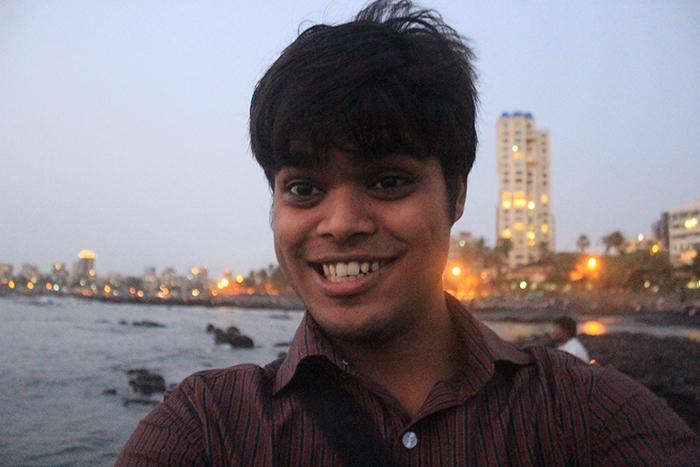 Mumbai Bandstand Bandra at Evening time