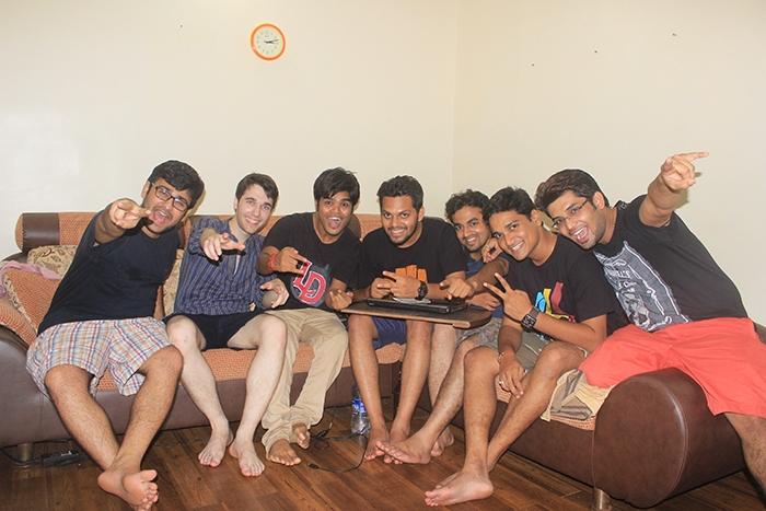 Mumbai boys partying hard