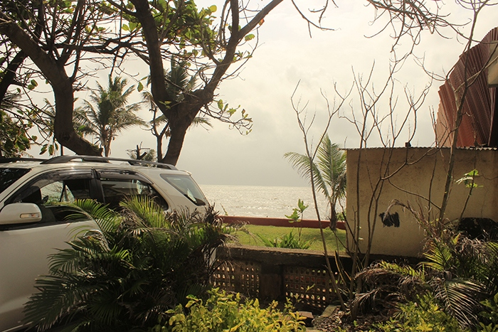 Sea view from Bandra Mumbai India